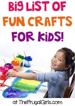 Top Kids Crafts via @Heidi Haugen Haugen at The Frugal Girls | Find summer craft inspiration by iris-flower