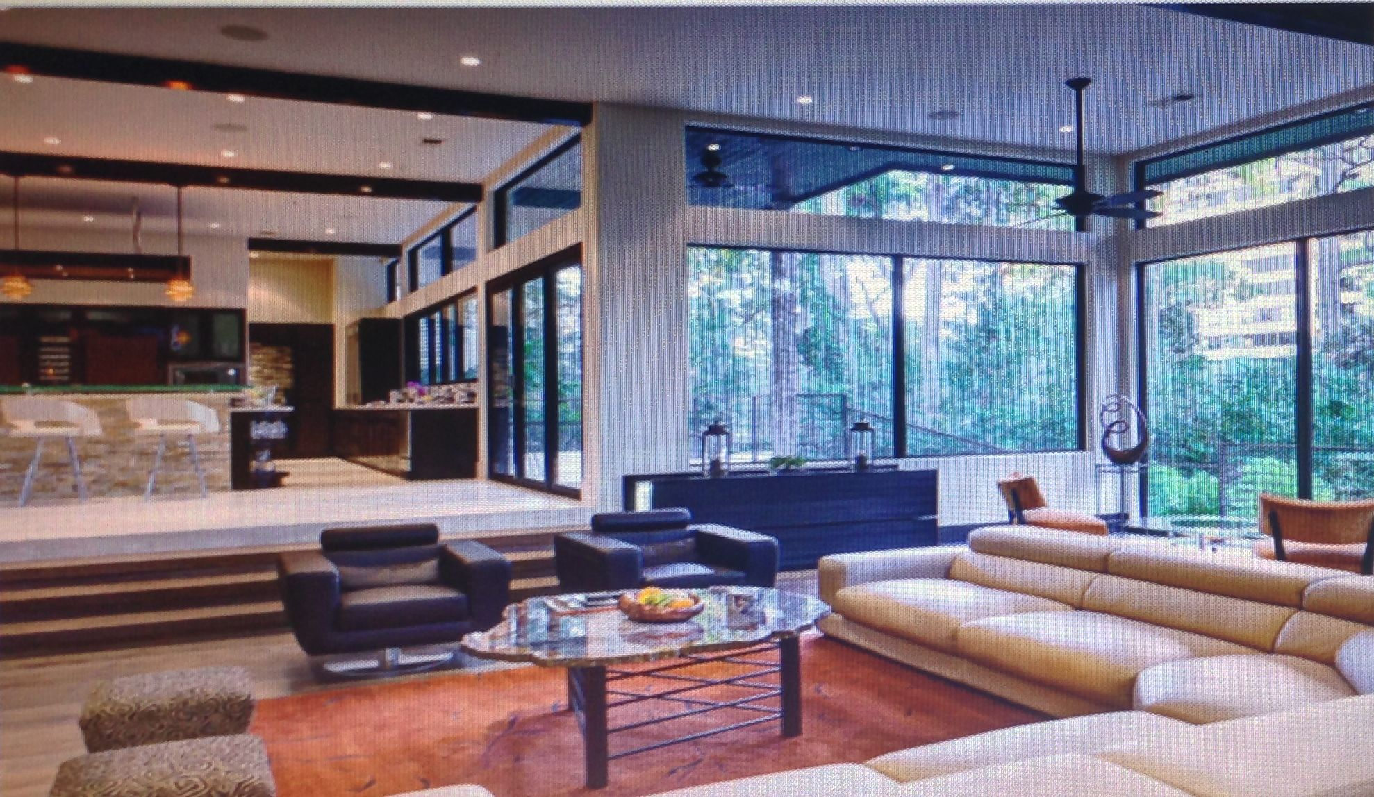 Our Living Room Would Be Like This Living Room, Sunken