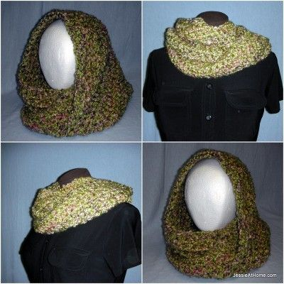 Ali Mobius Cowl Chunky Weight Free Crochet Pattern Blogger