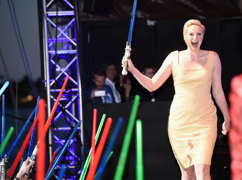 Gwendoline Christie se convierte en un producto de consumo masivo en el espacio exterior | Blog de Tronos