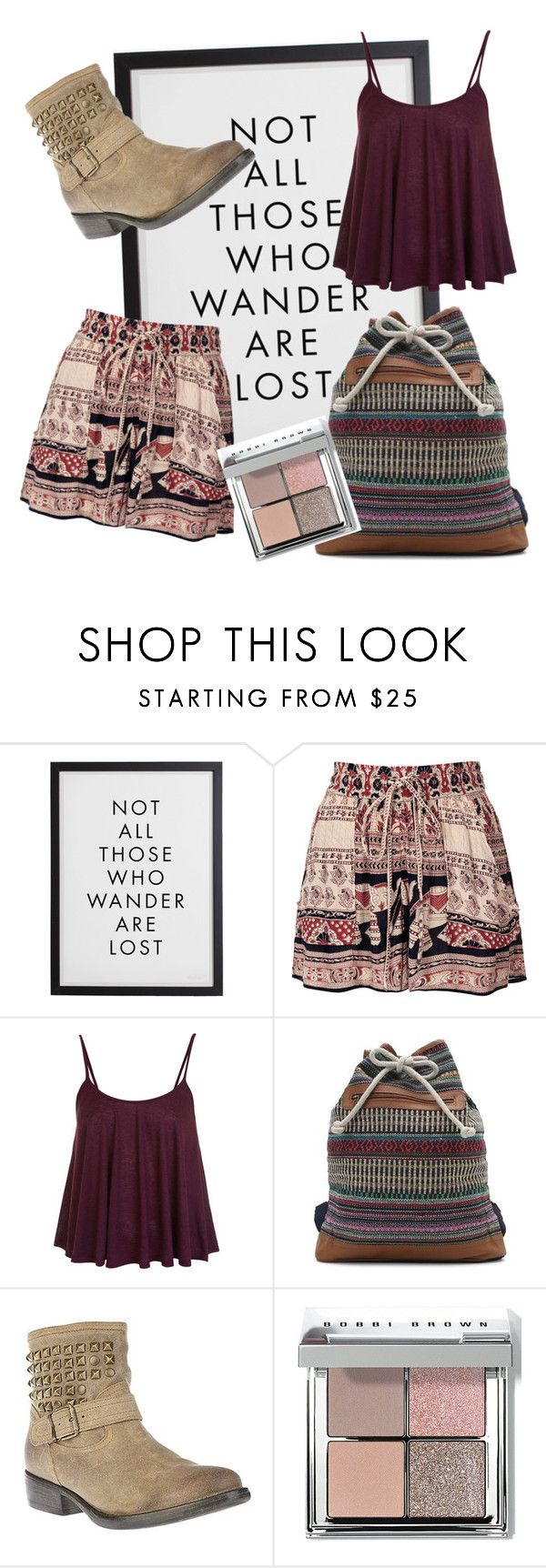 """Some of My Items"" by california-babe on Polyvore featuring Topshop, Miss Selfridge, LA: Hearts, Steve Madden, Bobbi Brown Cosmetics and LOC"