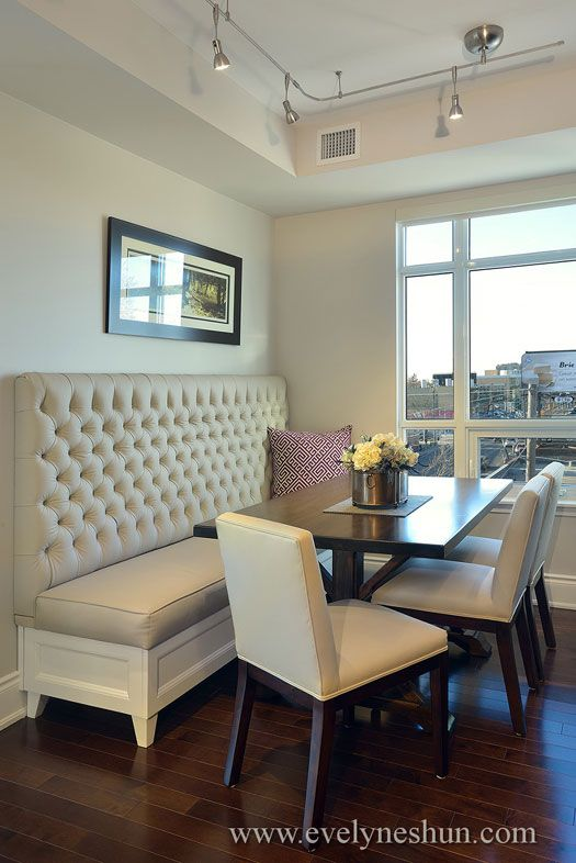 Dining Room Bench Seating With Back