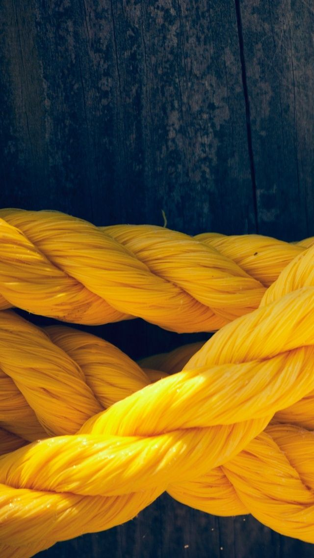 Yellow Rope iPhone5 Wallpaper (640x1136) (With images
