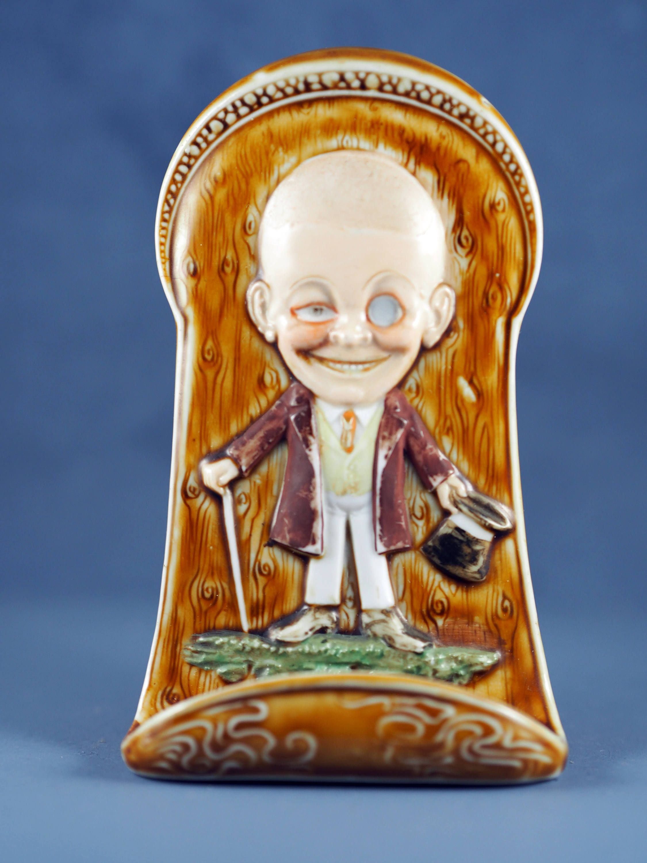 Antique Schafer and Vater Novelty Pin Holder Toothpick Holder Mr ...