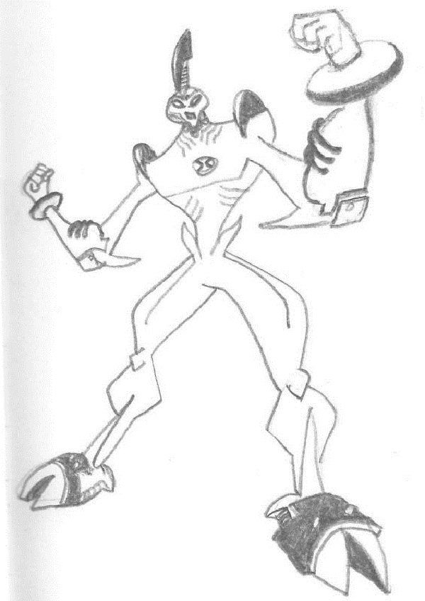Ben 10 Waybig Coloring Pages New Coloring Pages