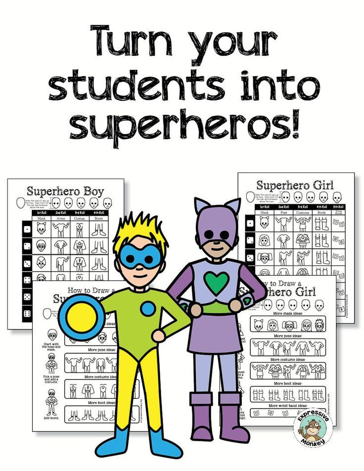Superhero Kids: Drawing, Writing, and a Little Math and Science ...
