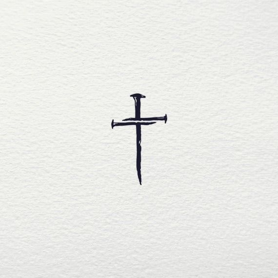 Nail Cross SVG  Three Nails Cross SVG Faith Jesus Crucifix   Etsy