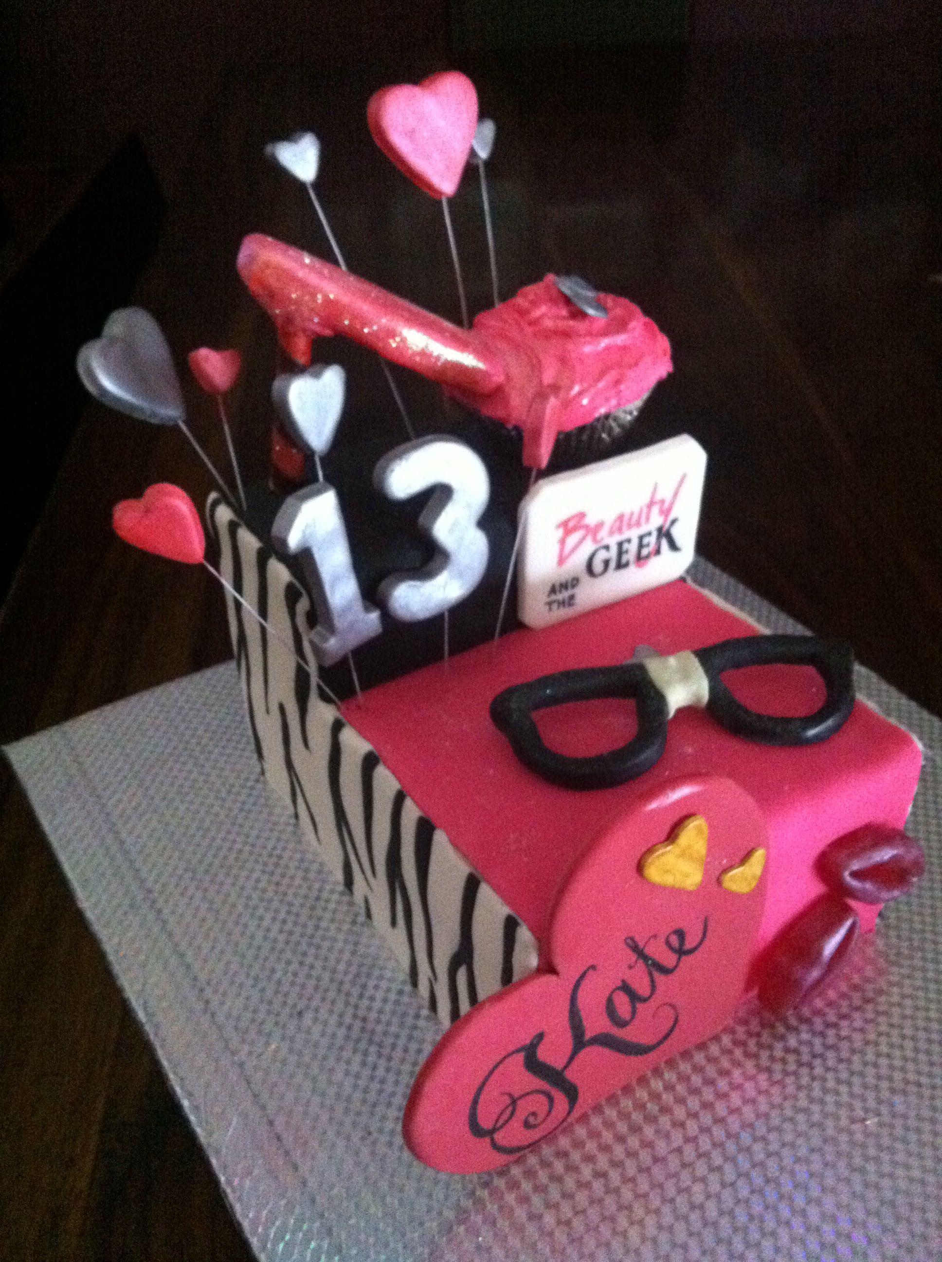 Beauty The Geek Birthday Cake Paulzs Cake Creations Www