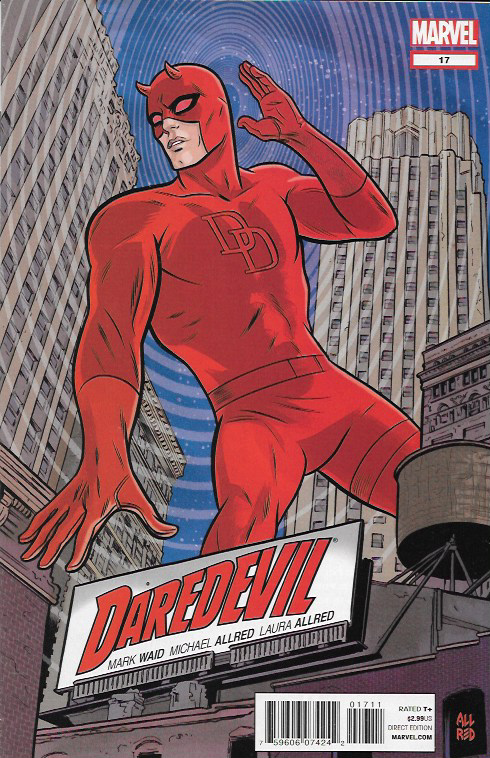 Written By Mark Waid , Art And Cover Mike Allred,__ The Story __The return of someone Matt thought was gone forever! The debut of a new menace in New York - the killer called Coyote! And just how sane