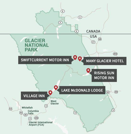 Best 25 Glacier National Park Lodging Ideas On Pinterest