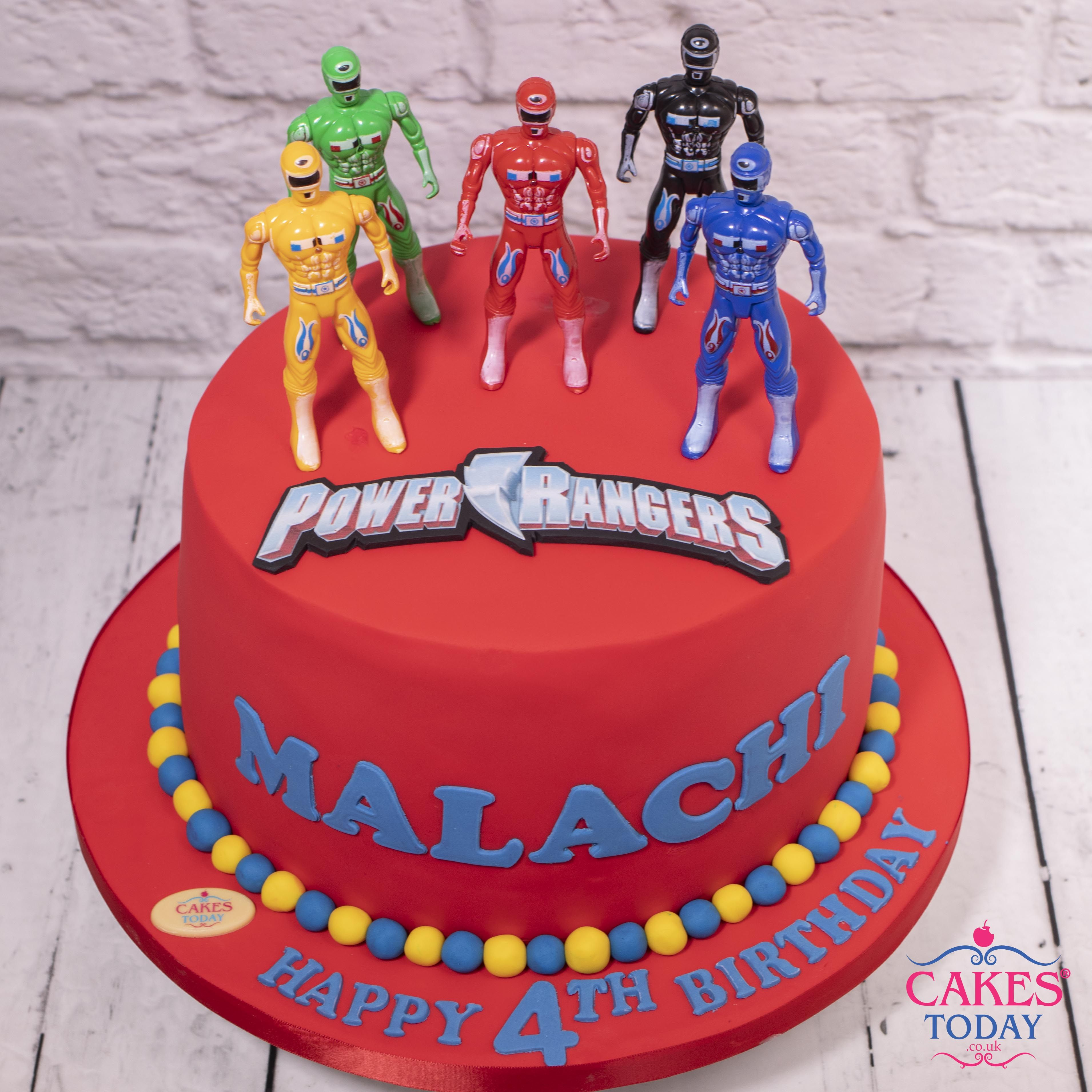 Power Rangers Making The Cake Explode Just By Posing Ifyouknowyouknow Power Rangers Birthday Cake Power Ranger Birthday Turtle Birthday Cake