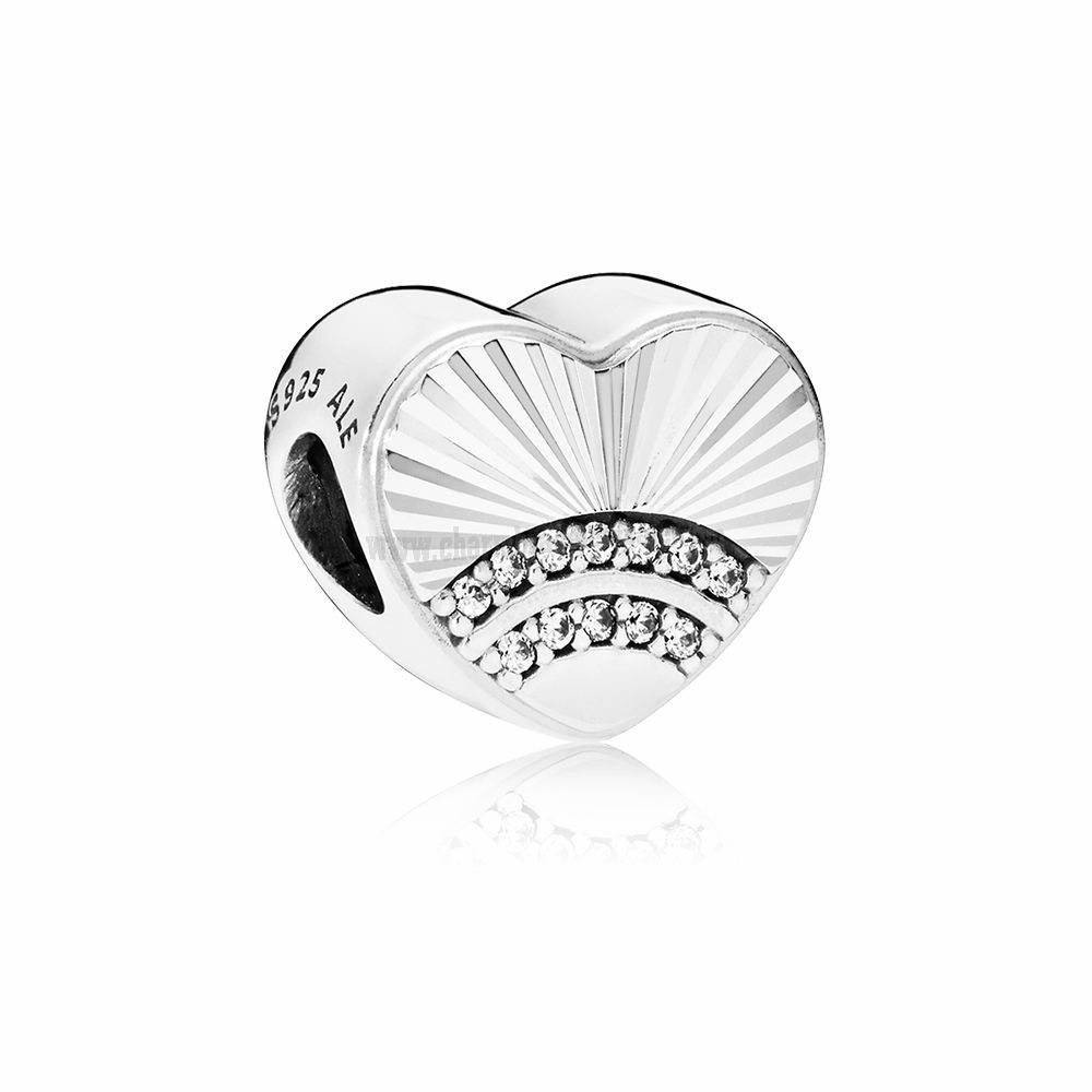 94fb76e9e Upscale Jewelry Fan Of Love Charm Clear Cz   PANDORA Charms ...