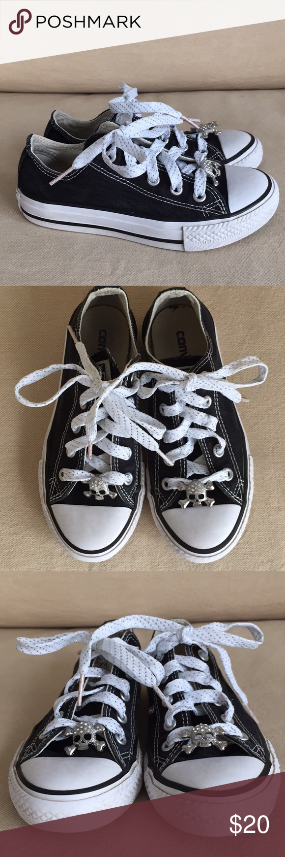Converse High-Tops Chuck Taylor Kids 12 Kids black Converse in great  pre-owned 184a3e16d