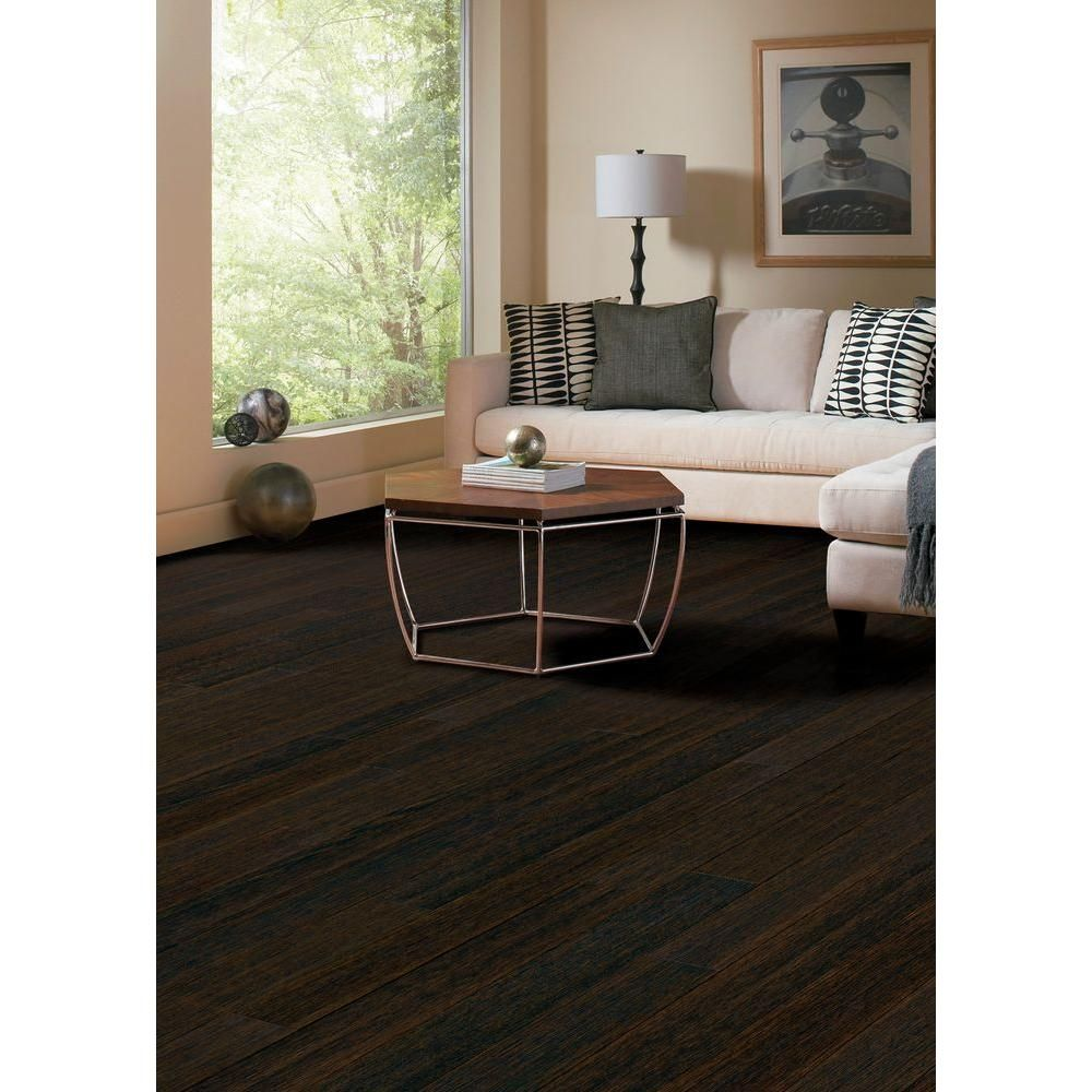 Home Legend Wire Brushed Oak Coffee 3 8 In Thick X 5 Wide 47 1 4 Length Click Lock Hardwood Flooring 19 686 Sq Ft Case Hl152h At The
