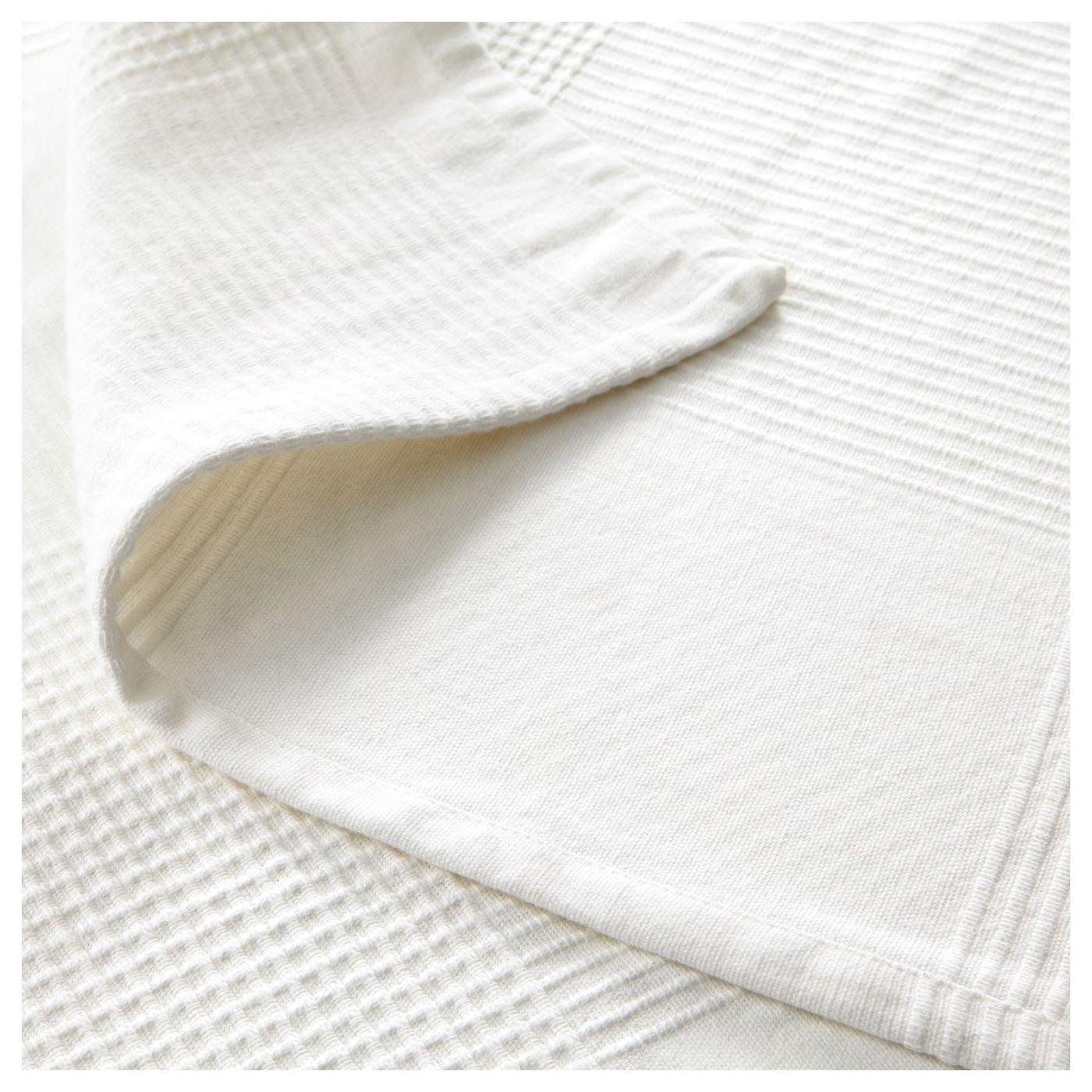 "INDIRA Bedspread white 59x98 "" Bed spreads, Cotton"