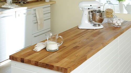 anleitung arbeitsplatte aus holz berarbeiten und ausbessern diy info k che pinterest. Black Bedroom Furniture Sets. Home Design Ideas