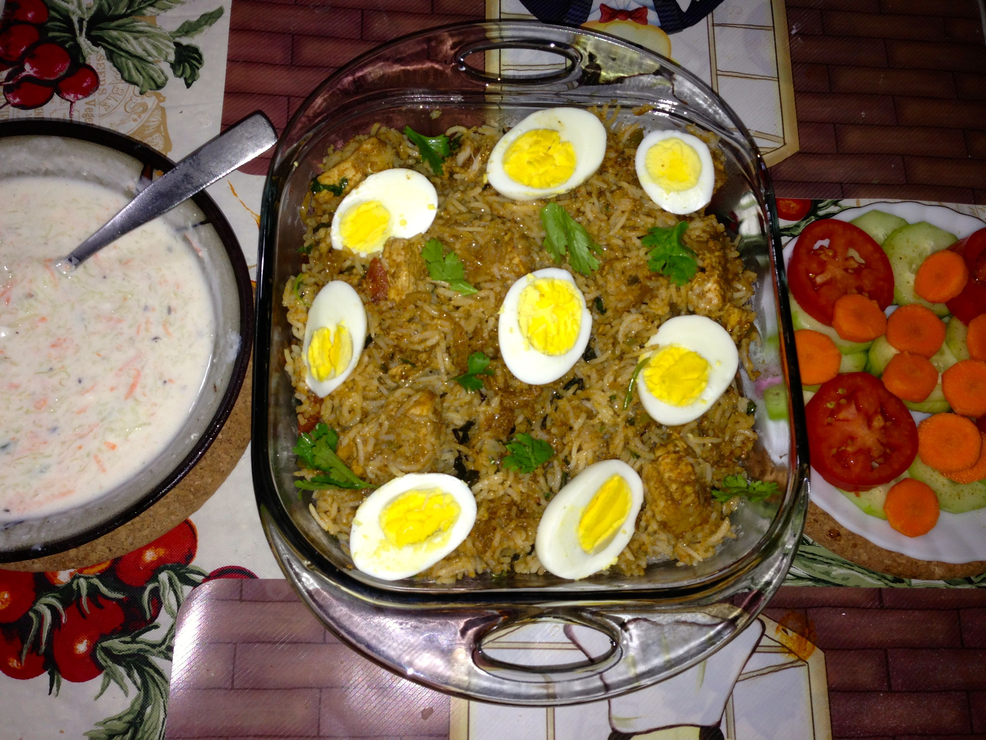 Chicken Biryani!