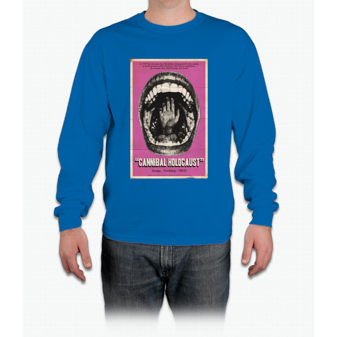 Cannibal Holocaust Movie Poster Tee Bee Movie Long Sleeve T-Shirt