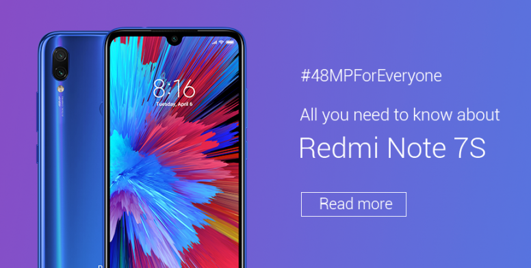 Redmi Note 7s Price and Full specifications