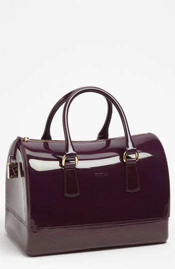 4e15618ea424 Furla  Candy  Rubber Satchel available at  Nordstrom (I also saw this bag  in green and blue... I want it so...)
