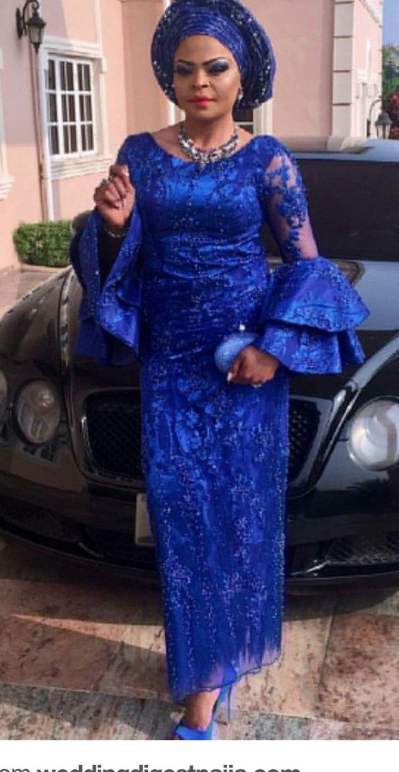 Aso Ebi Styles For Wedding Guest In 2020 African Lace Dresses African Lace Styles African Fashion Traditional