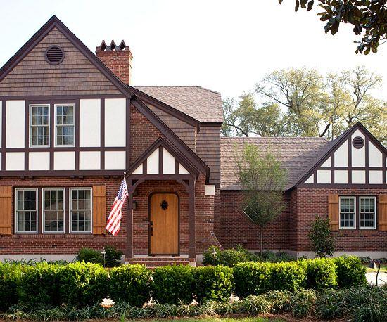 Tudor Style Home Renovation Better Homes Gardens Pinterest Tudor Style
