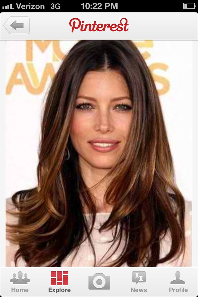 Enjoyable Pretty Brown And Caramel Sombre Hair Pinterest Hairstyles For Women Draintrainus