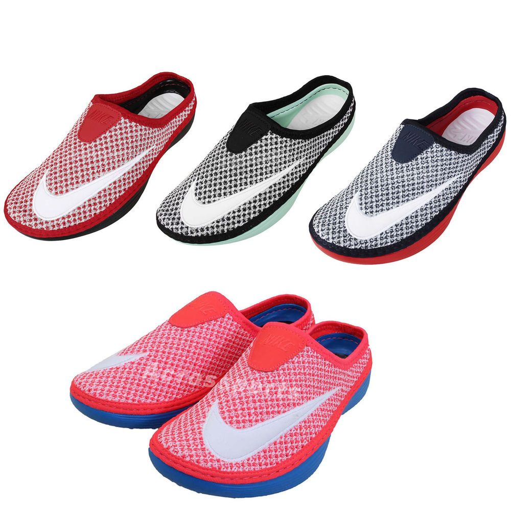 Nike Solarsoft Mule Mens Slide Slipon Sandal Shoes NSW