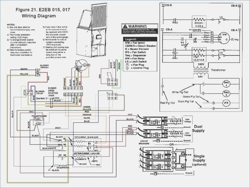 Great Intertherm Electric Furnace Wiring Diagram s
