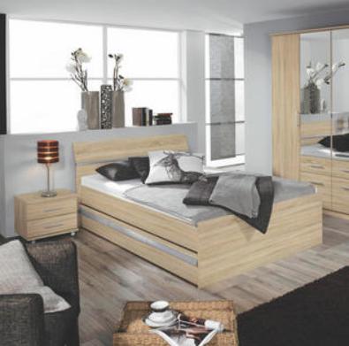 Stauraumbett 140x200 Braun Metall Holz Mit Bildern