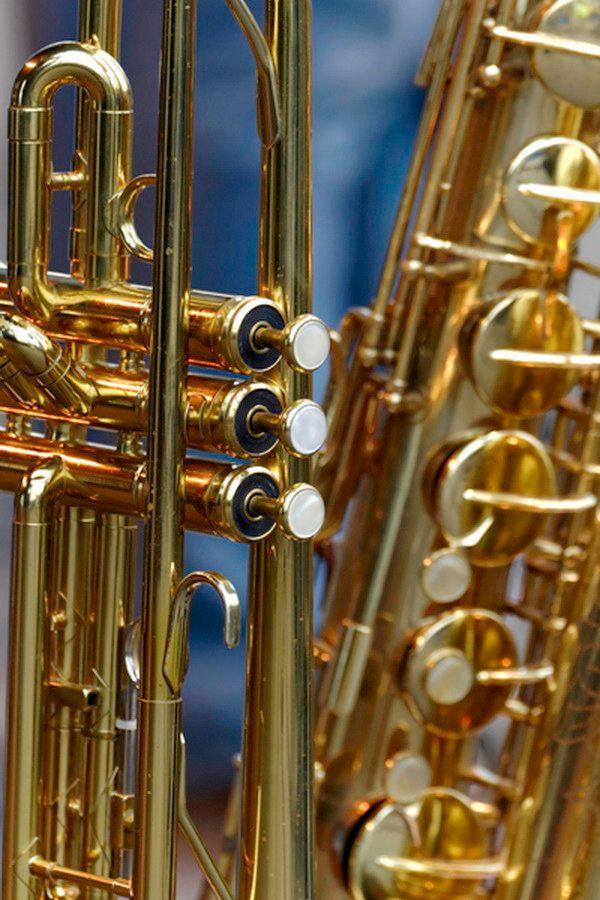 Original Photography By Herb Quick Vertical Musical Instrument Photo Featuring A Brass Trumpet And Saxophone Title Trumpet Music Jazz Art Art Inspiration