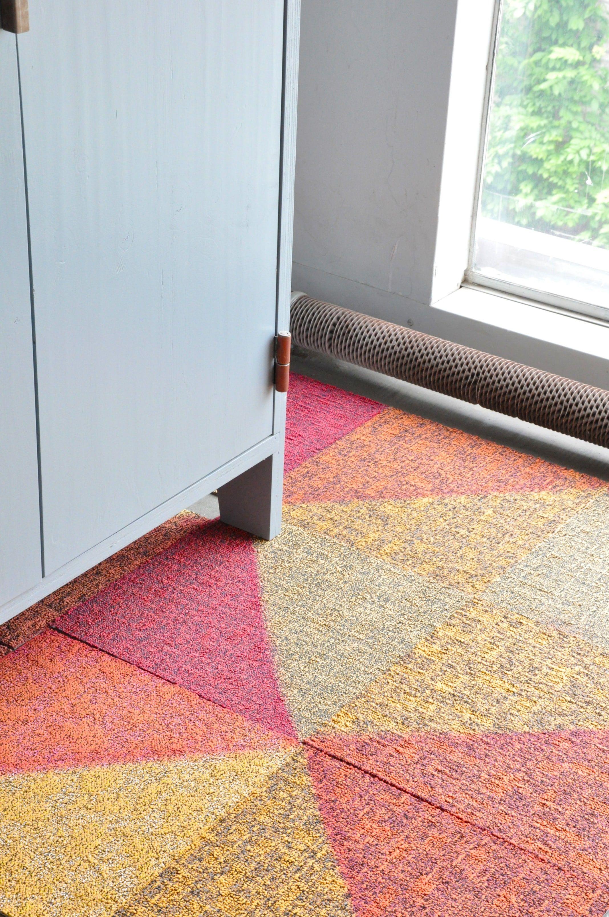 Carpet Over Tile Transition