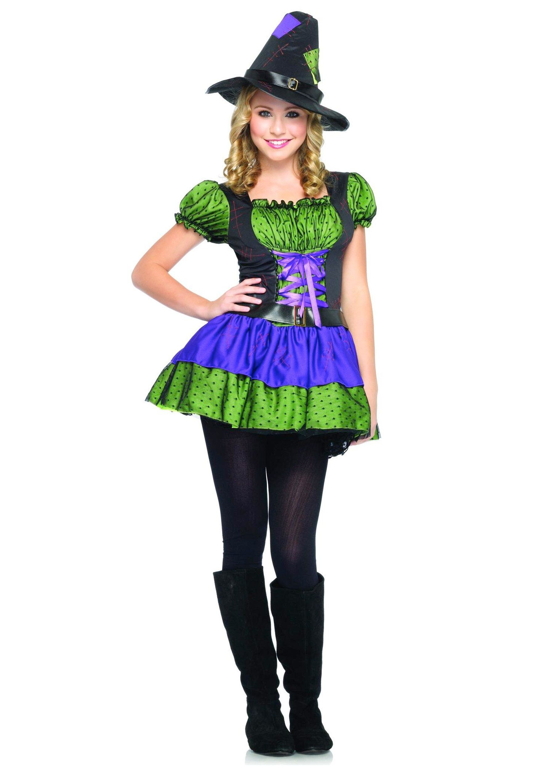 halloween costumes for teenage girls |  teen girls bold witch