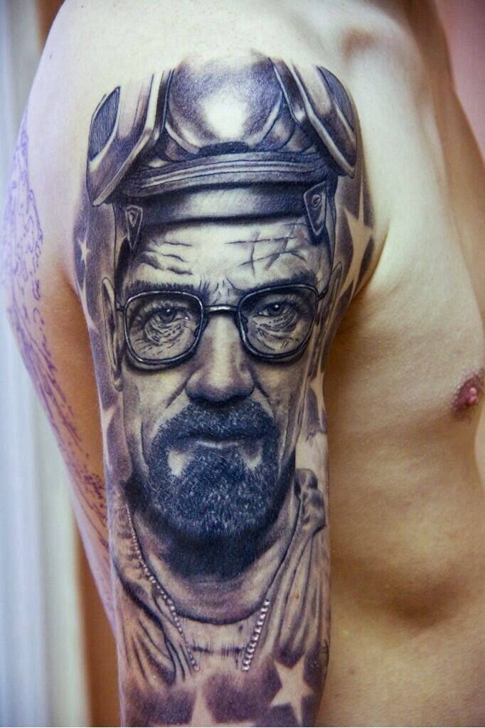 00d23df90 Michael Rose Arts ~ Breaking Bad ~ Walter White tattoo | Got ink ...