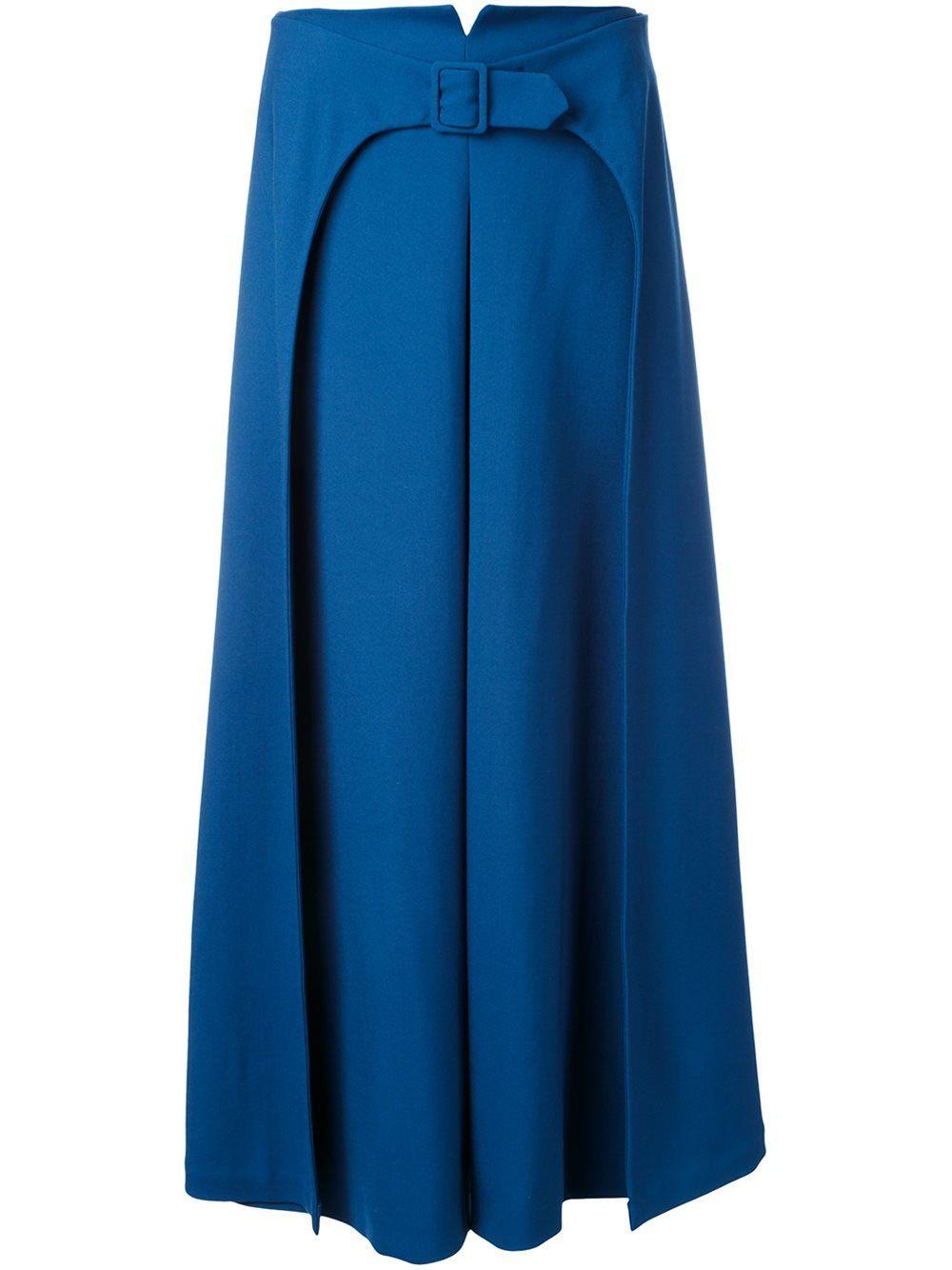 saia calça curta cobalto feminina