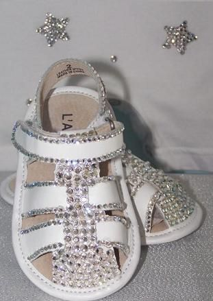 7b7abfda1e4d8d Baby Bling Shoes   Rhinestone Baby Shoes   Crystal Baby Shoes