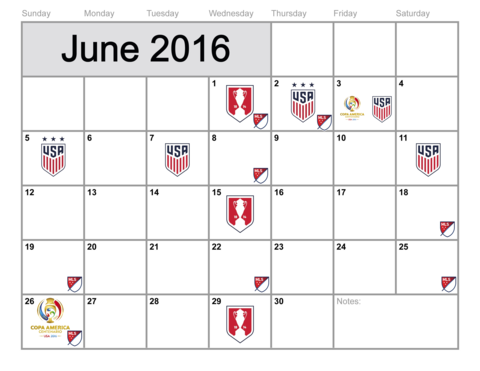 2016 Summer of US Soccer | Ruffneck Scarves #USWNT #USMNT #CopaAmerica