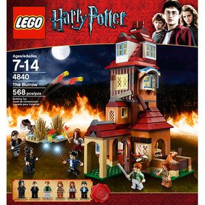 4840 Lego Harry Potter The Burrows Walmart Com In 2021 Harry Potter Lego Sets Lego Harry Potter Harry Potter Diagon Alley