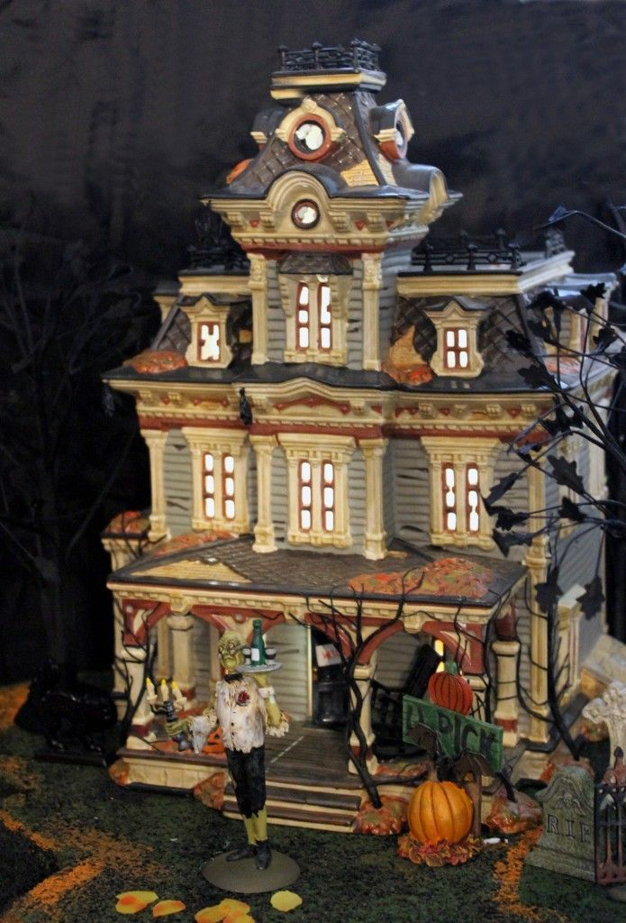 halloween village display #halloweenvillagedisplay halloween village display #halloweenvillagedisplay