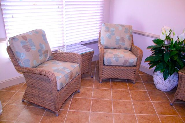Charmant Occasional Chairs And Lamp Table At Seapointe Village, Wildwood Crest, NJ · Beach  House ...