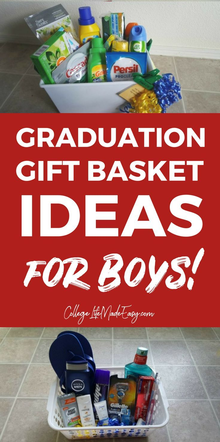 5 diy going away to college gift basket ideas for boys