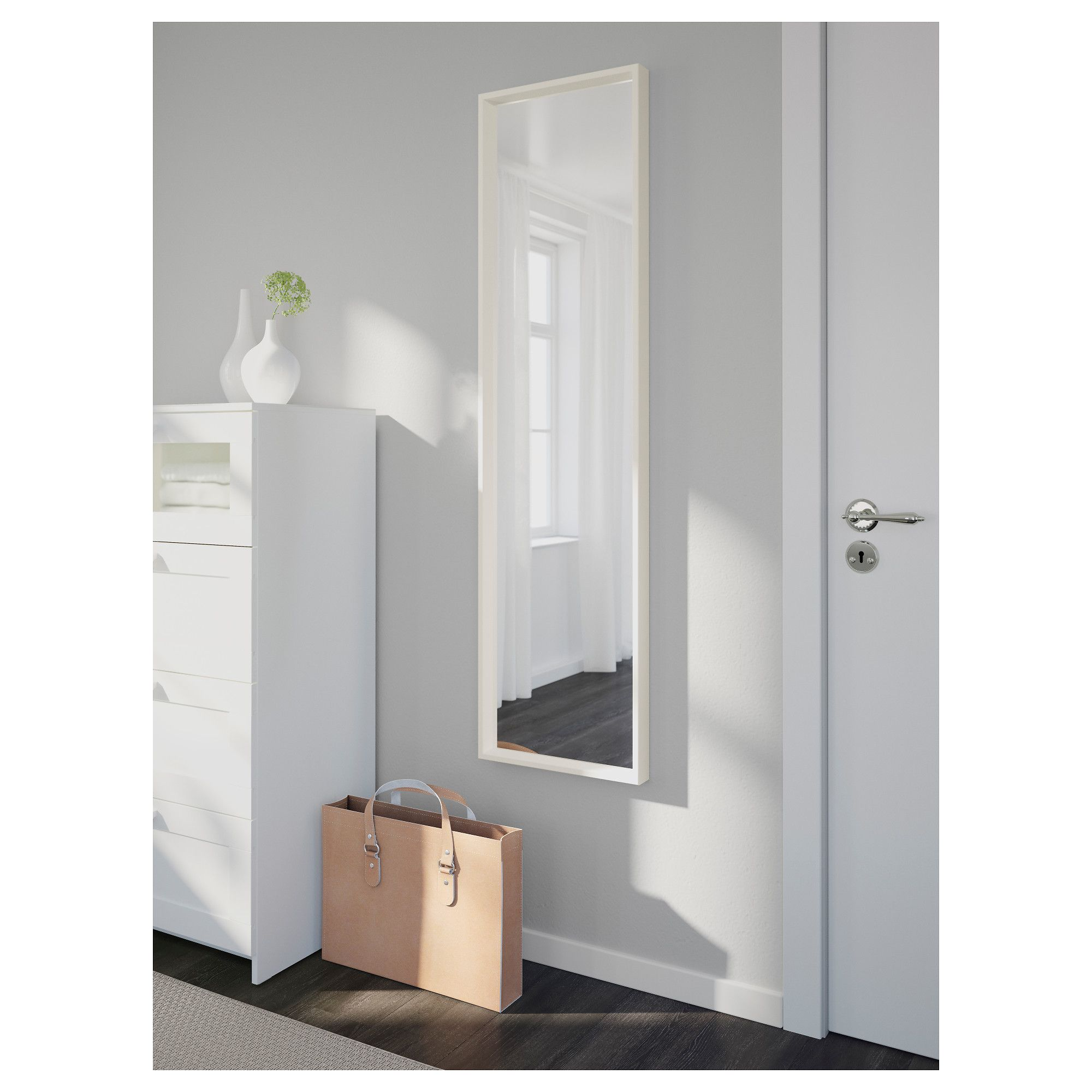 nissedal mirror  white in 2019
