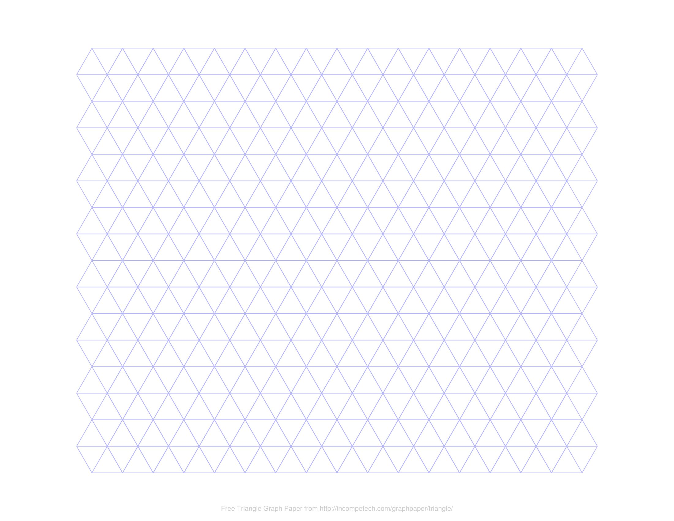 Printable Graph Paper Polygons In