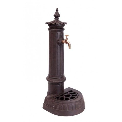 Fontaine en fonte avec son robinet - Histoire de Jardin | Fontaine ...