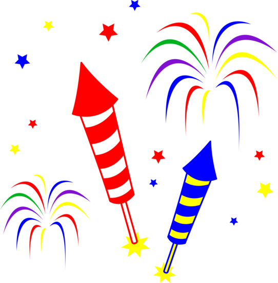 fireworks clip art free clipartsco