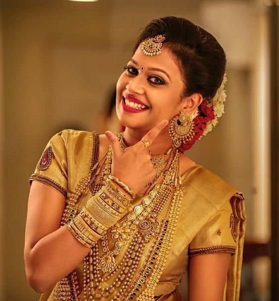 Best kerala bride images - Simple Craft Ideas in 2020 | Indian bridal photos, Bridal hairstyle ...