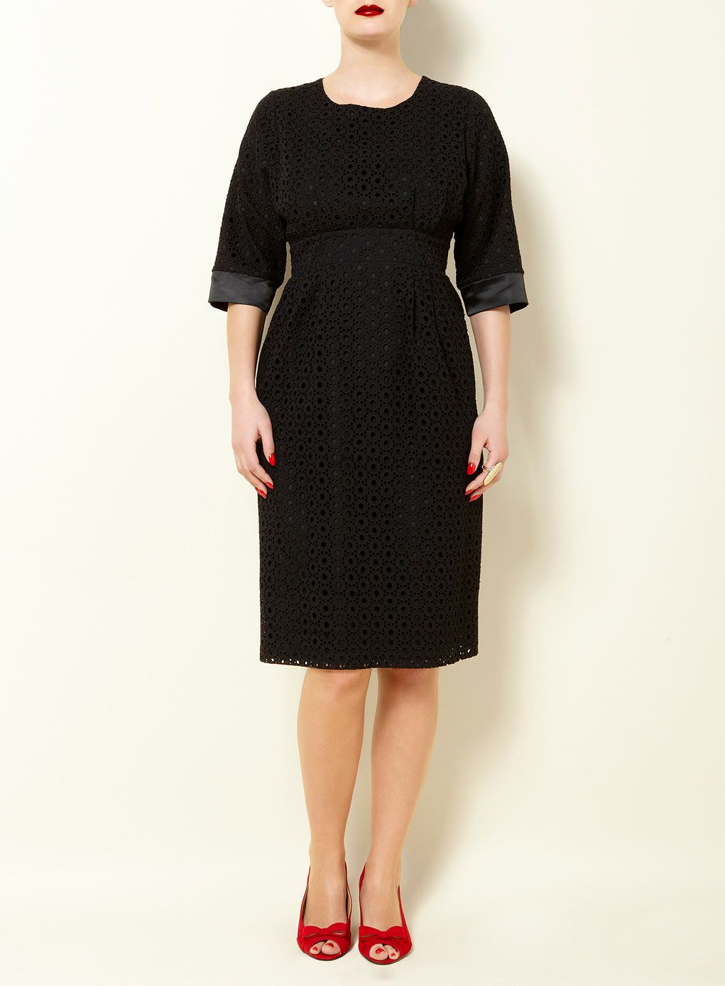 17c09xblk Evans Us Clothes Betty Dress Black Dress With Sleeves