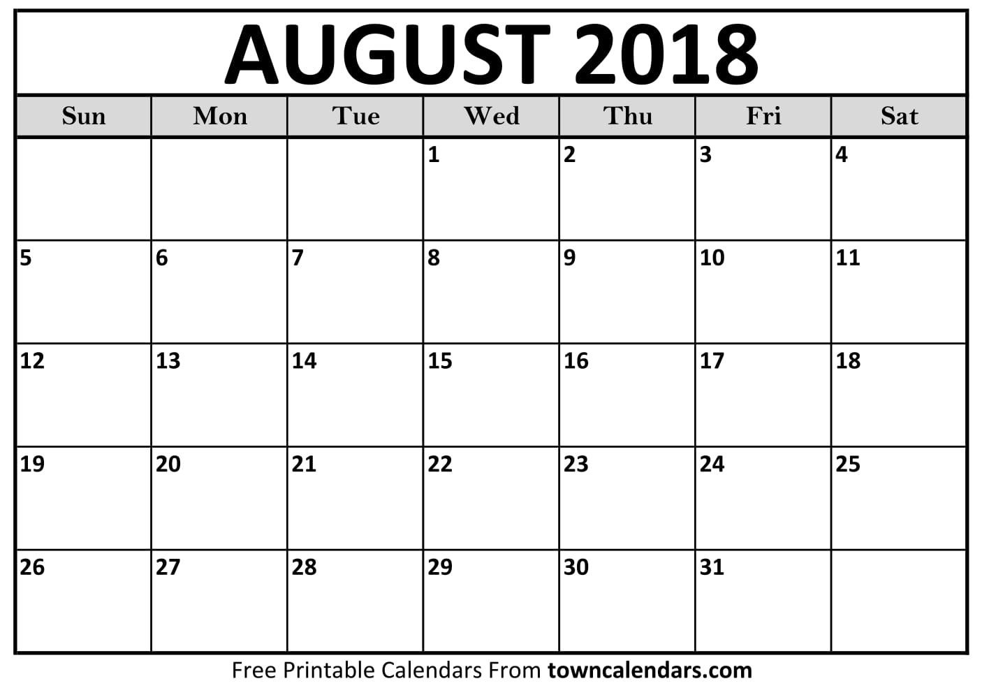 August Keeping Life Sane Printable Schedule Template Calendar