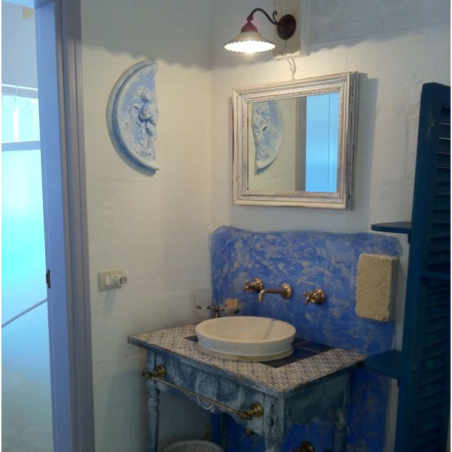 Shabby chic in masseria.