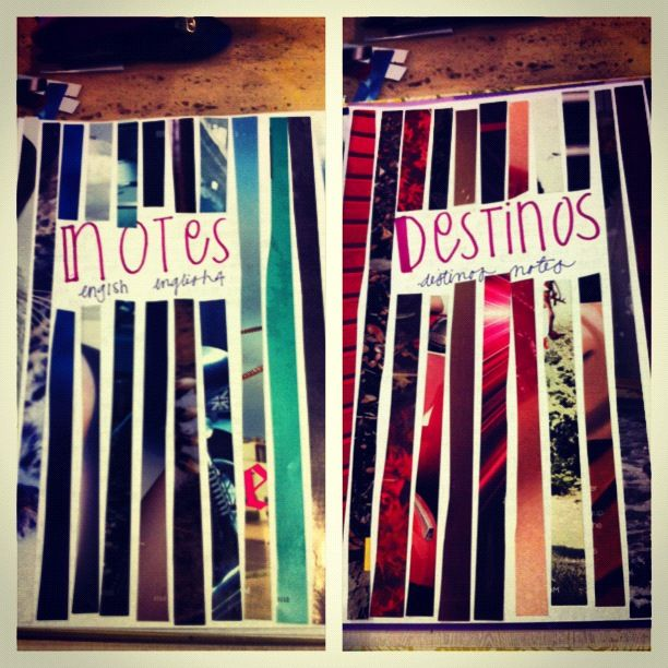 Decided To Be Creative While I Organize My Binder #school